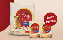 Purina One Mini Gratisproben
